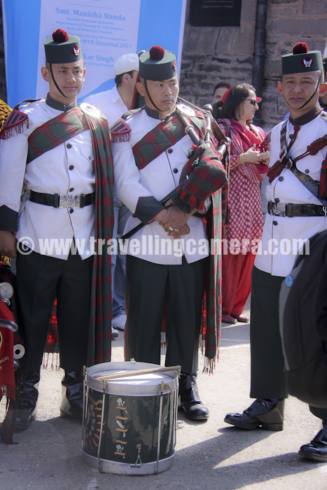 There was a wonderful performance by India Army band on Shimla-Ridge !!!