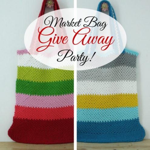 Market Bag Give Away Party | Happy in Red