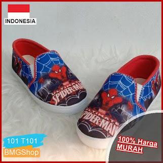 T101 Sepatu Anak Spoder Laki laki BMGShop