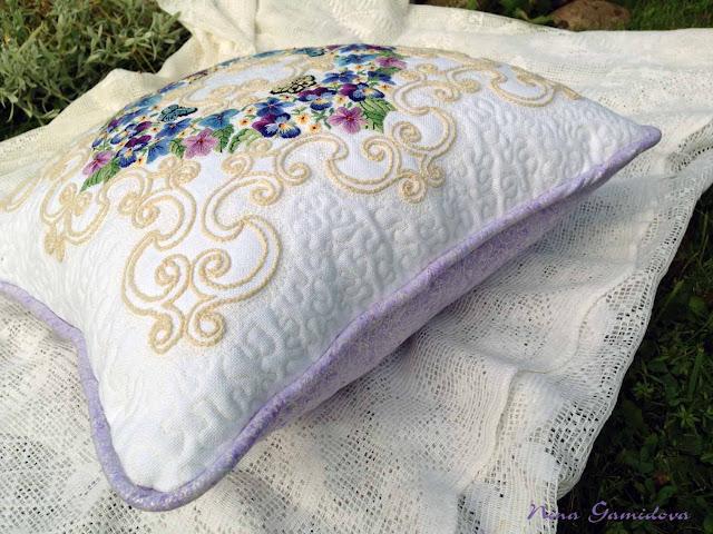 интерьерный текстиль, ручная работа