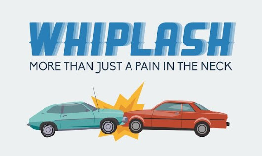Whiplash: More Than Just a Pain in the Neck #infographic