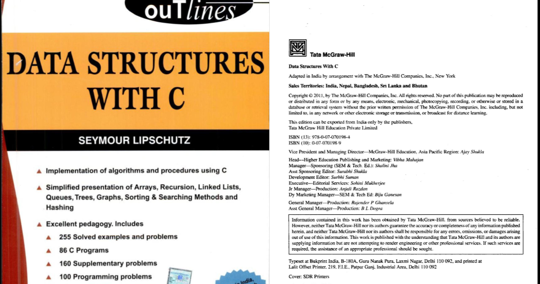 Data Structure Schaum Outline Series By Seymour Lipschutz Pdf