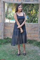 Pragya Nayan New Fresh Telugu Actress Stunning Transparent Black Deep neck Dress ~  Exclusive Galleries 006.jpg