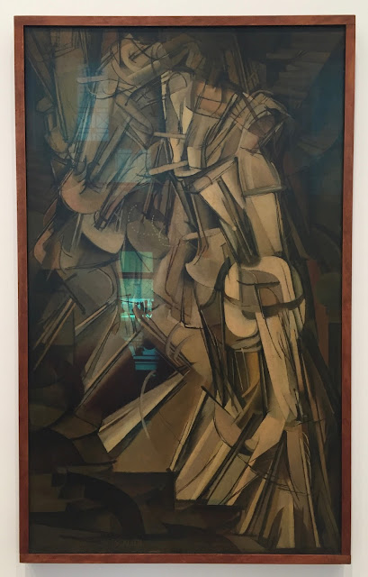 Philadelphia Museum of Art Marcel Duchamp Nude Descending a Staircase No. 2