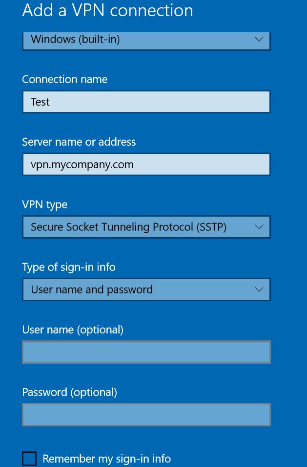 Remote access server vpn server end to end solution configuring vpn