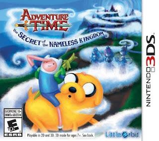 Adventure Time: The Secret of the Nameless Kingdom, 3DS, Español, Mega, Mediafire