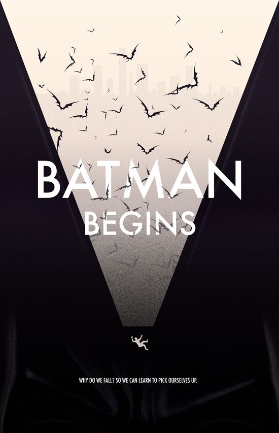 Diseño de carteles alternativos de películas famosas.