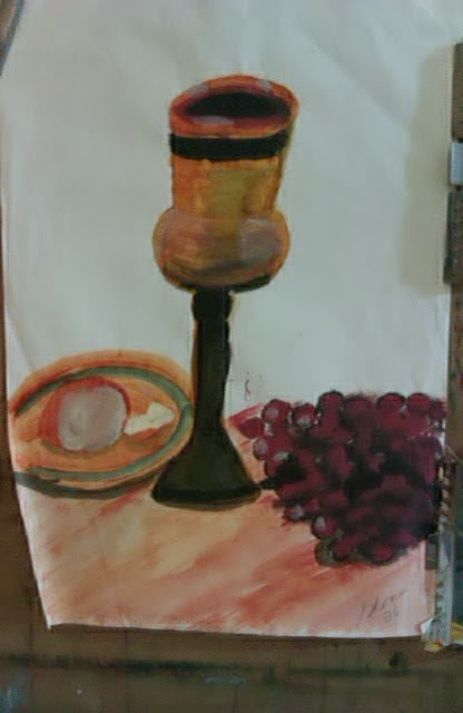 """The Lord's Supper"" sketch by Gloria Poole"
