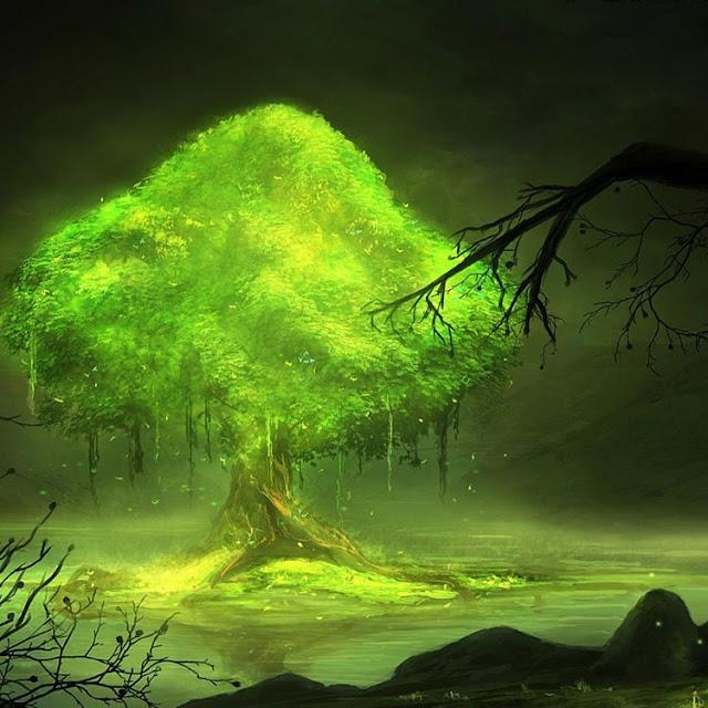 Glowing Tree [1080p] Wallpaper Engine