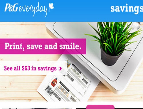 P&G BrandSAVER September Edition Coupons