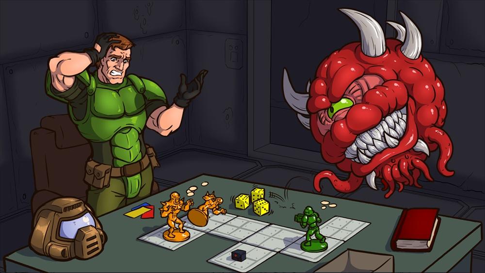 Doom, o jogo de tabuleiro