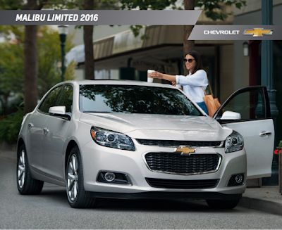 Downloadable 2016 Chevrolet Malibu Limited Brochure
