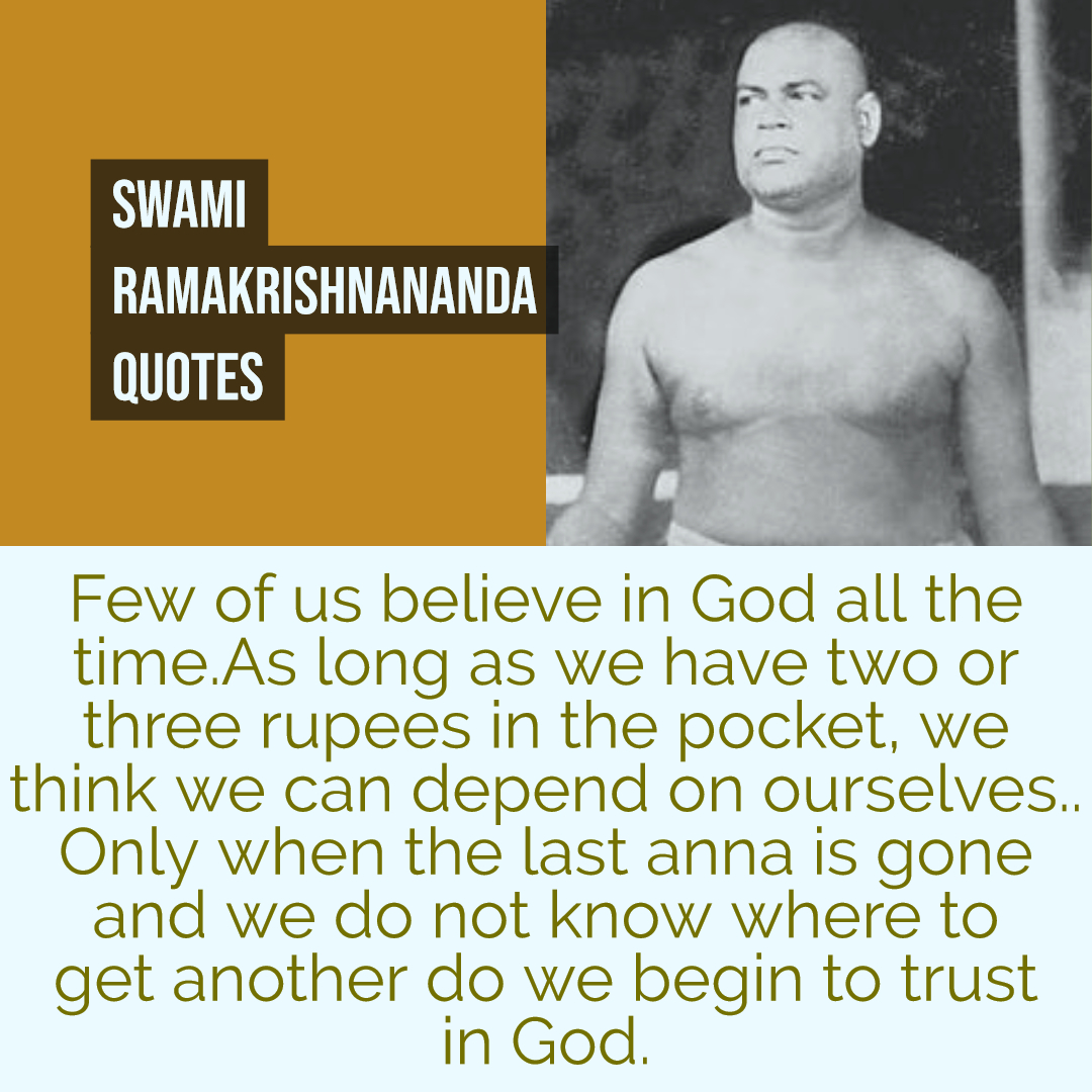 Ramakrishnananda Quotes