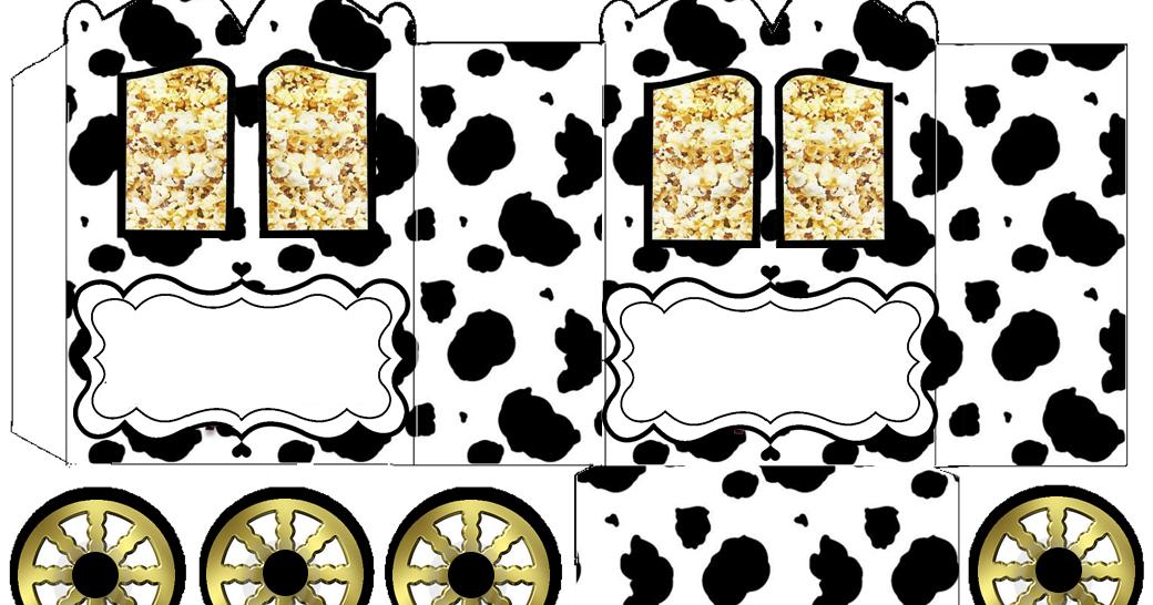 Piel de Vaca: Caja con forma de Carruaje para Imprimir Gratis ...