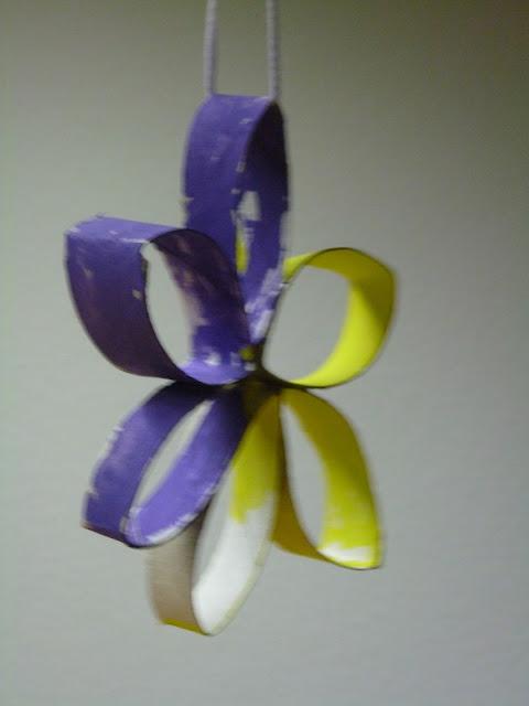 Blüten basteln mit Kindern