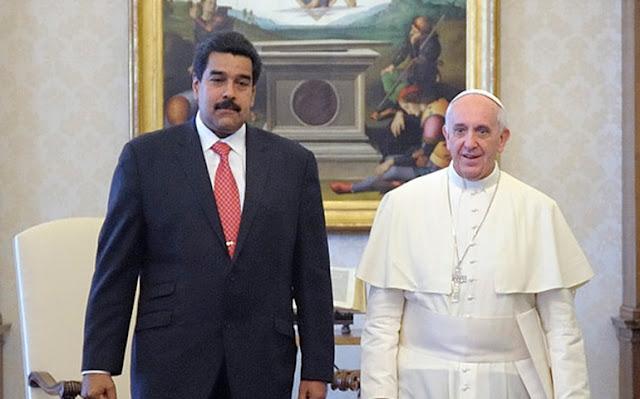 Até tu, Francisco? Papa enviou representante para posse de Maduro