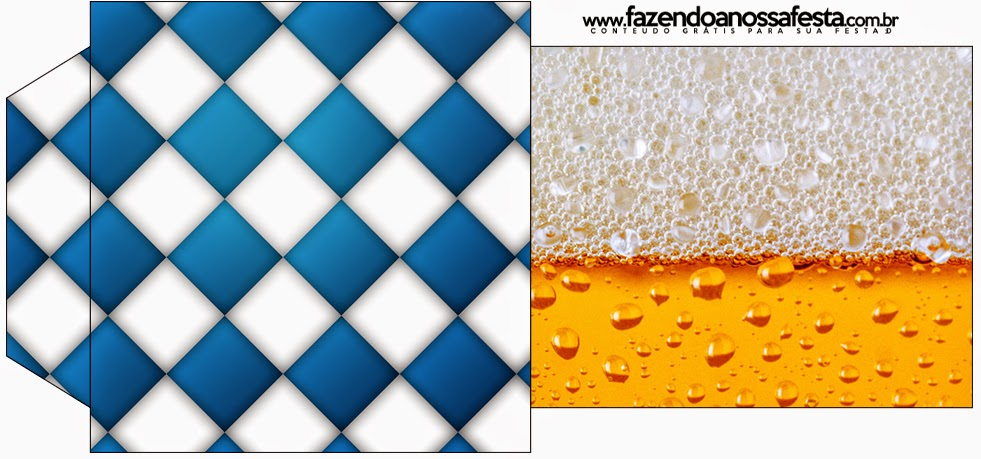Bolsita de Té para imprimir gratis de Fiesta de la Cerveza.