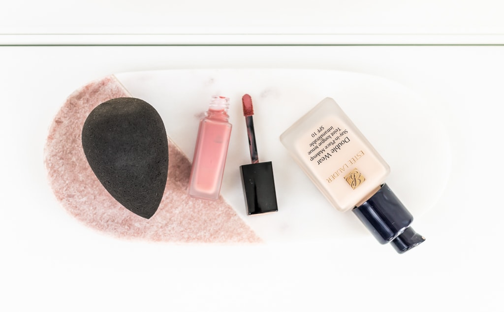 Best of beauty 2017 meine Make-up-Jahresfavoriten Beautyblender Pro, Chanel Rouge Allure Ink und Estée Lauder Double Wear Foundation