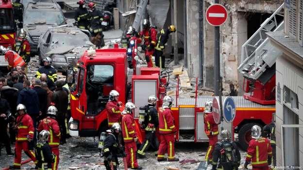 Explosão no centro de Paris deixa mortos e dezenas de feridos