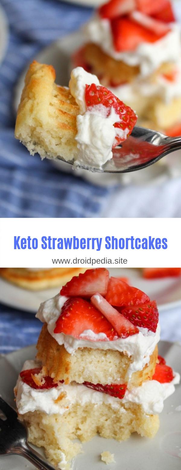 Keto Strawberry Shortcakes