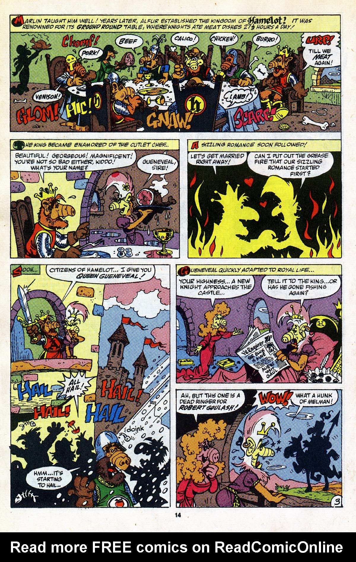 Read online ALF comic -  Issue #26 - 13
