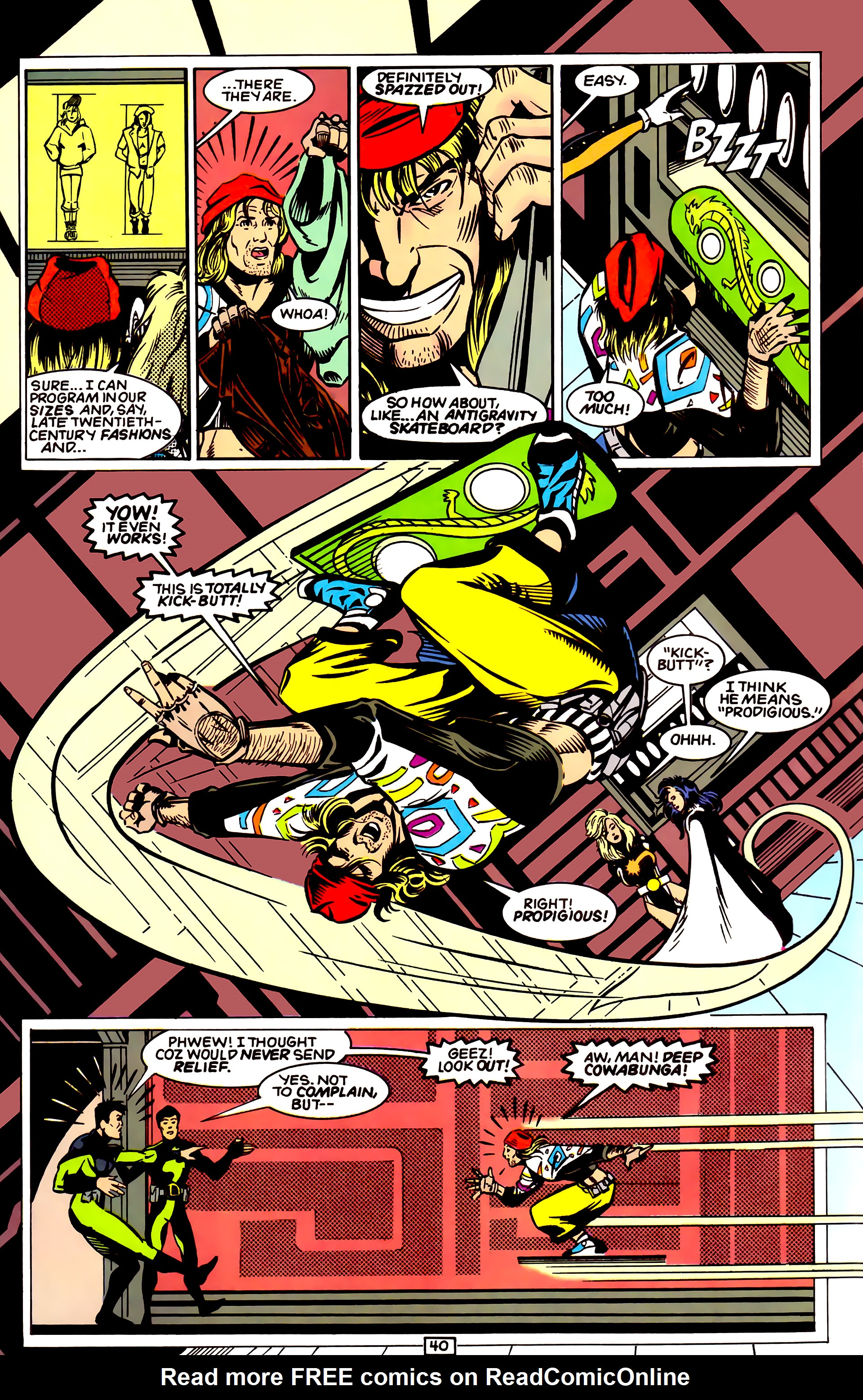 Legion of Super-Heroes (1989) _Annual_4 Page 40