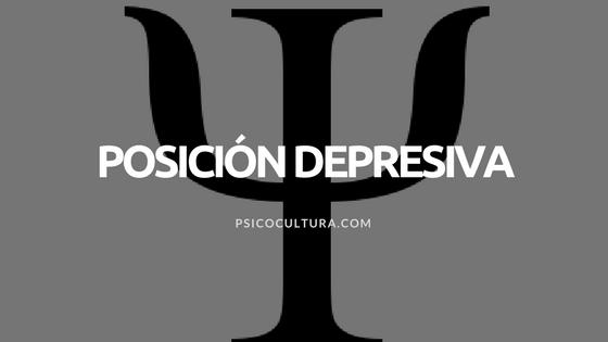 Melanie Klein: Posición depresiva