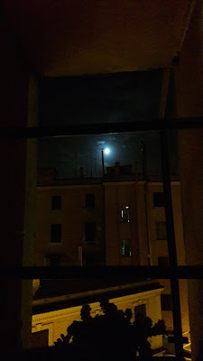 Moonlight thinking of Nizza