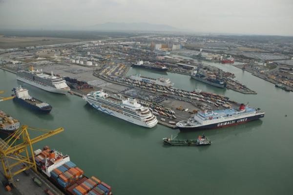 Un buon primo semestre per i porti dell'Alto Tirreno