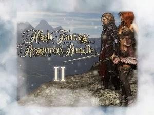 RPG Maker VX DLC - High Fantasy Resource Bundle II - Rpg