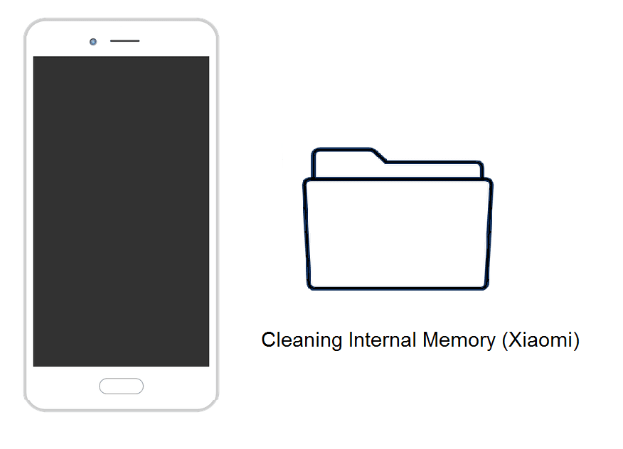 Memori internal HP Xiaomi penuh