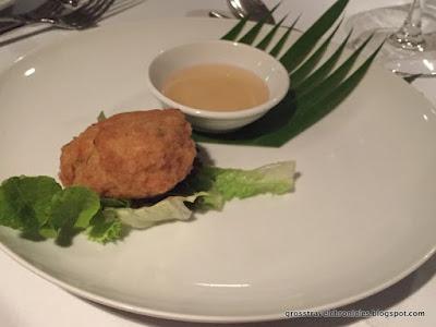 coconut shrimp cake