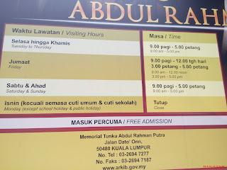 Memorial Tunku Abdul Rahman