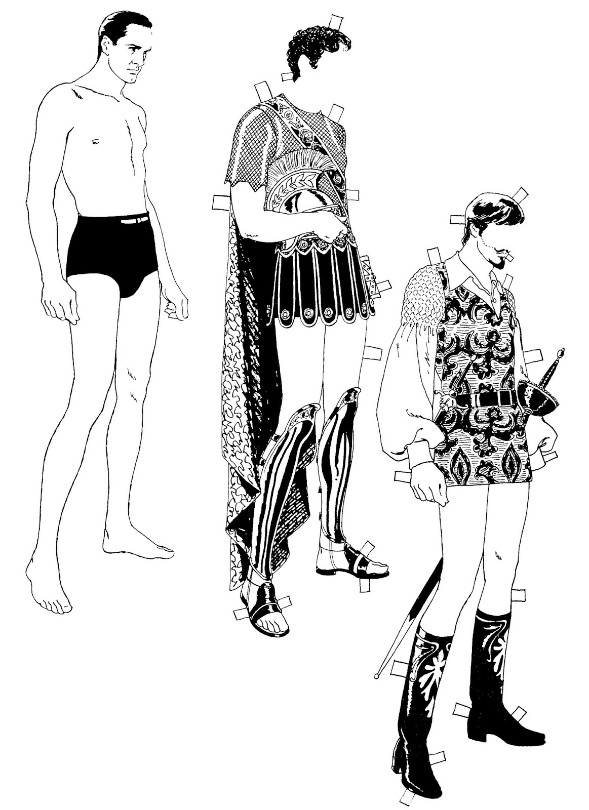 Mostly Paper Dolls Too!: FREDRIC MARCH Paper Doll by Tom