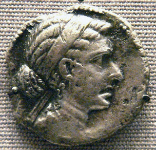 Silver coin of Cleopatra VII
