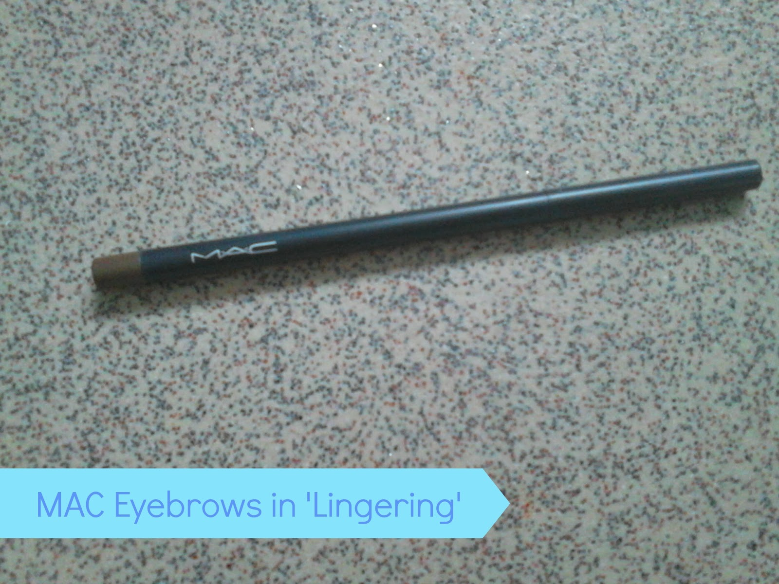 MAC Eyebrow Pencil in Lingering
