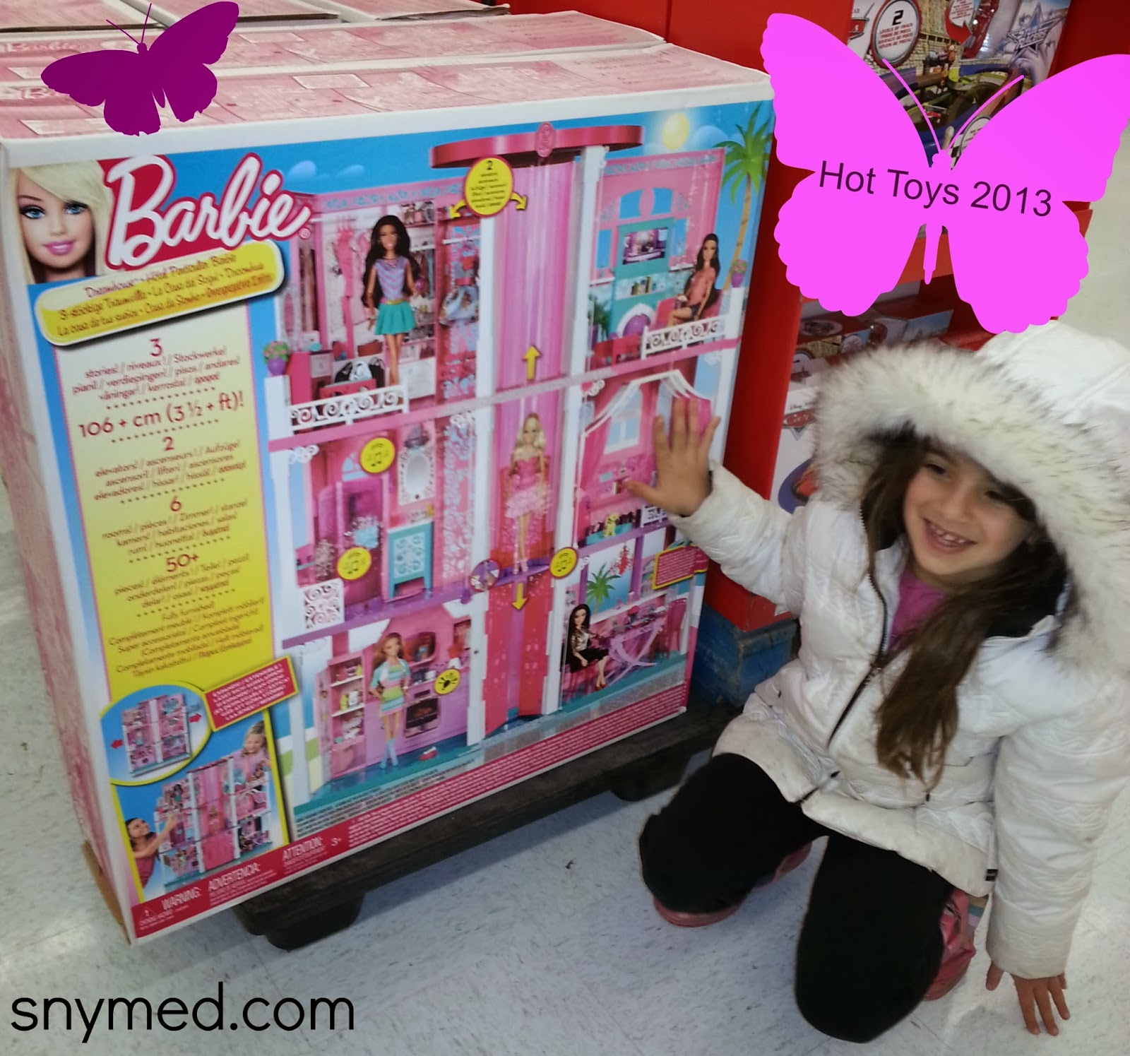 Snymed Check Mattelca For Barbie Dreamhouse Hotwheels
