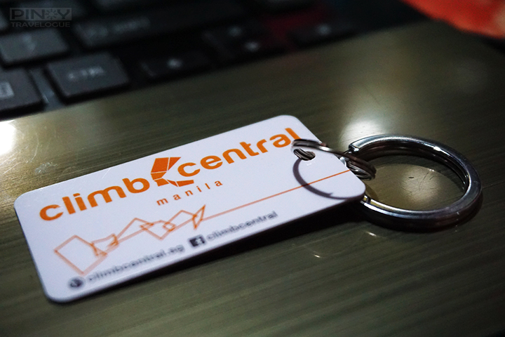 Climb Central Manila's mini access card