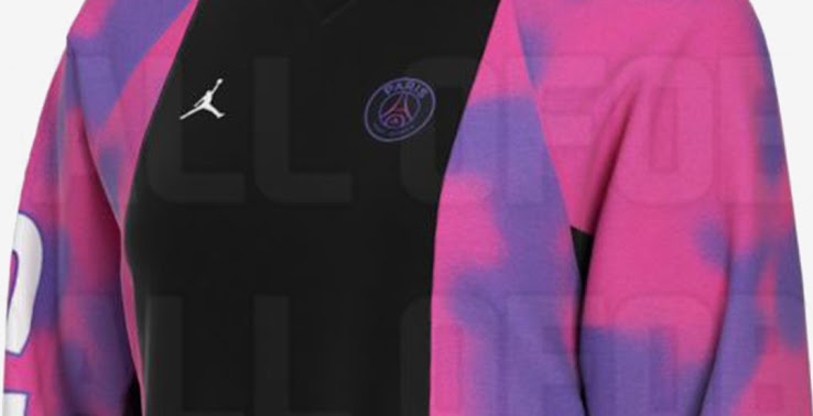 fourth kit design insane jordan psg