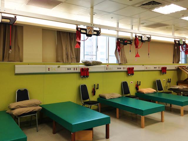 好痛痛 長安醫院復健科 健保復健 物理治療 redcord 紅繩懸吊