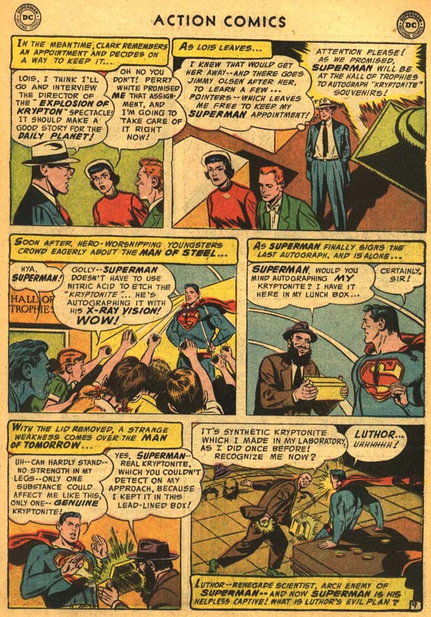Read online Action Comics (1938) comic -  Issue #210 - 13
