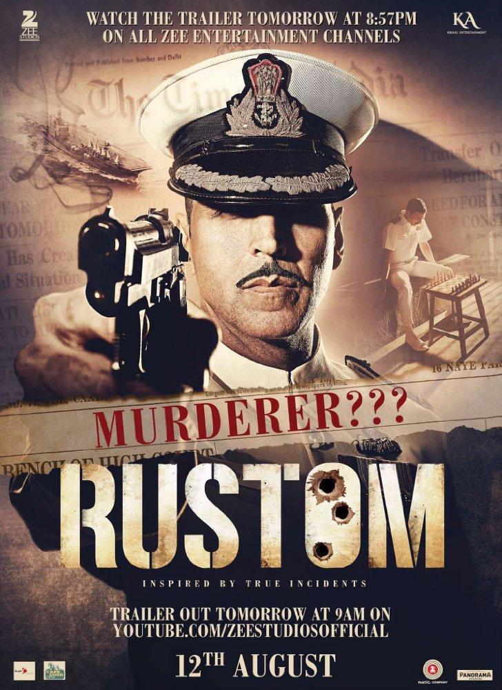 Dia mengunjunginya dan menembaknya sampai mati, setelah itu dia menyerahkan dirinya tetapi mengaku. RUSTOM(2016) Watch Full Hindi Movie Online   Watch Free HD