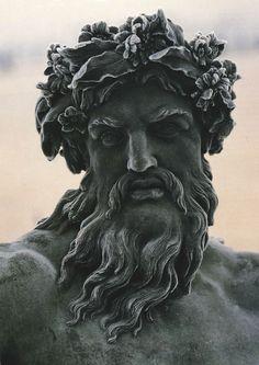Statue of Zeus (Detail) Chateau de Versailles