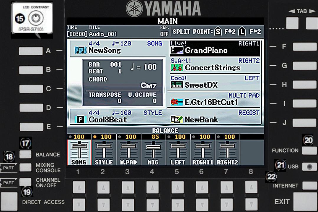 Sty Yamaha