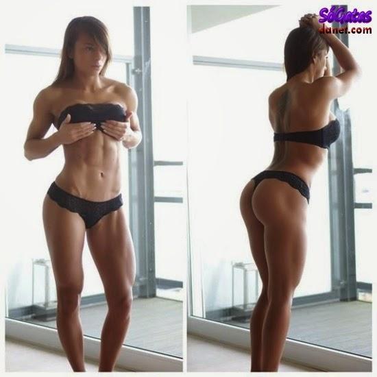 Sandrinha Prikker de lingerie preta
