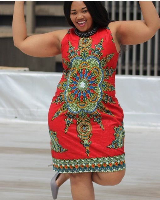 752217be366 Beautiful Ankara Styles for the Plus size Ladies