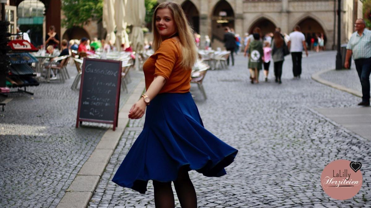 Meine 1-Meter-Garderobe Teil 6: Orange Frau Nikki und das Zeitproblem
