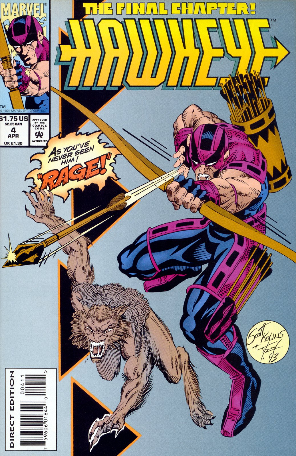 Hawkeye (1994) Issue #4 #4 - English 1