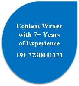 Famous content writer in hyderabad