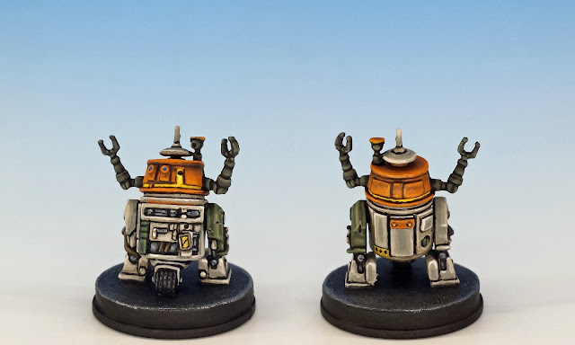 "C1-10P ""Chopper"", Imperial Assault (2017), painted miniature"